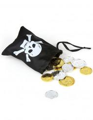 Tesoro pirata con bolsa