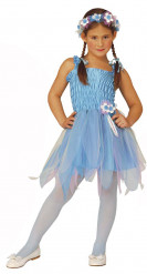 Disfraz azul de hada ballerina para niña