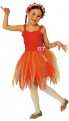 Disfraz rojo de hada ballerina para niña