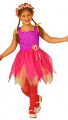 Disfraz violeta de hada ballerina para niña