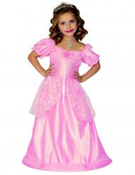 Disfraz de princesa para niña rosa claro