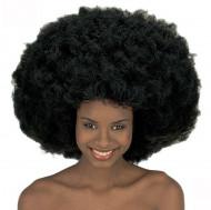Peluca maxi estilo afro-disco para mujer