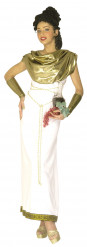 Disfraz de diosa griega puntilla grecada para mujer