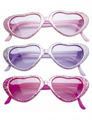 Gafas con lentejuelas y mucho glamour para niña