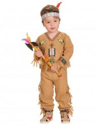 Disfraz de indio para niño con dibujos
