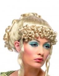 Peluca rubia de diosa griega