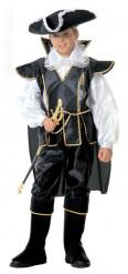 Disfraz de capitán pirata elegante para niño