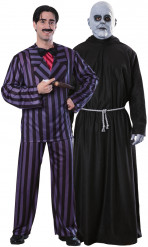 Disfraces oficiales de pareja de Gómez y Fétido Addams