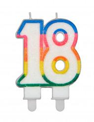 Vela de cumpleaños de dos cifras