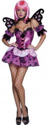 Disfraz de elfa nocturna sexy para mujer, ideal para Halloween