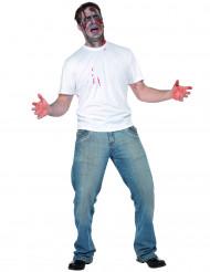 Disfraz de persona apuñalada en la espalda para adulto