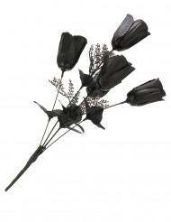 Ramo de rosas negras ideal para Halloween