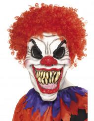 Máscara terrorífica de payaso, ideal para Halloween