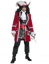 Disfraz de auténtico capitán pirata para hombre