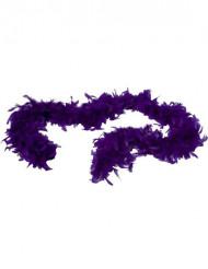 Boa violeta para adulto