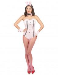 Disfraz de conejita sexy body para mujer