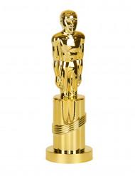 Estatuilla dorada de Premio cinematográfico