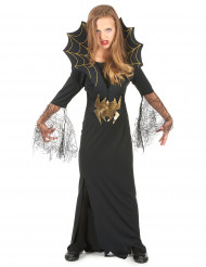 Disfraz de reina de las arañas para niña, ideal para Halloween