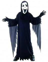 Disfraz de asesino/a para niño o niña ideal para Halloween