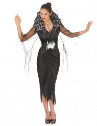 Disfraz de mujer araña ideal para Halloween