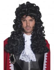 Peluca de pirata para hombre pelo ondulado