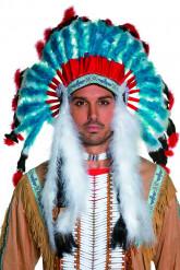 Corona de indio de lujo para adulto