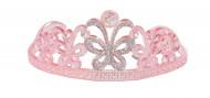 Diadema rosa de princesa