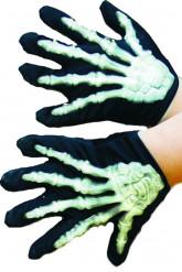 Guantes de esqueleto para niño o niña, ideales para Halloween