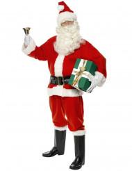 Disfraz de Papá Noel de lujo para hombre