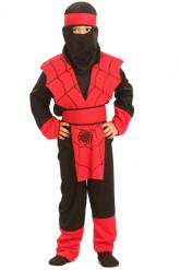 Disfraz de ninja araña para niño, ideal para Halloween