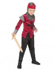 Disfraz de rey caballero medieval para niño