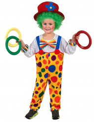Disfraz de payaso niño o niña