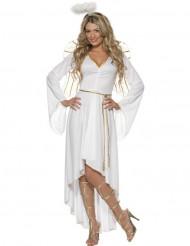 Disfraz de ángel de Navidad para mujer
