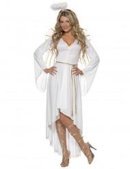 Disfraz de ángel Navidad para mujer