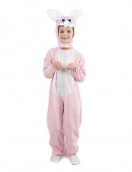 Disfraz de conejito rosa para niño o niña