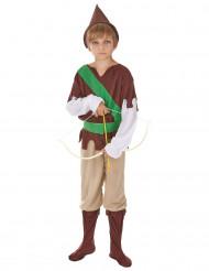 Disfraz de justiciero del bosque para niño