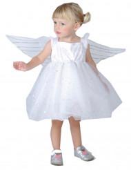 Disfraz de princesa de los ángeles para niña pequeña