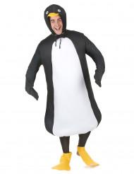 Disfraz humorístico de pingüino para adulto