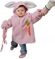 Disfraz de conejito rosa niño