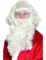 Barba de Papá Noel de lujo para hombre
