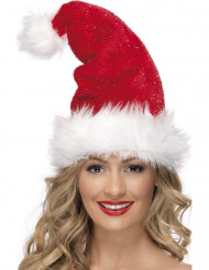Gorro de Navidad de lujo para adulto