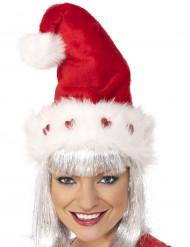 Gorro de Navidad de para adulto lujo