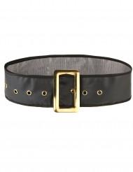 Cinturón negro de Papá Noel para adulto
