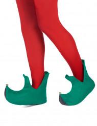 Zapatos de duende de Navidad para adulto
