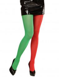 Pantys de elfo de dos colores para hombre