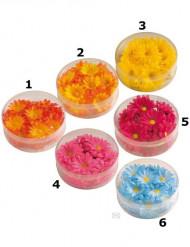 Flores sintéticas decorativas