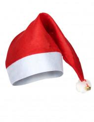 Gorro de Navidad con cascabel para adulto