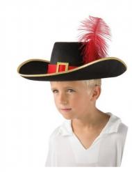 Sombrero de mosquetero niño