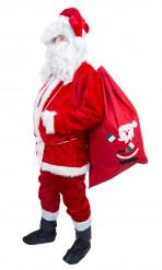 Disfraz de Papá Noel completo para hombre