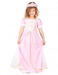 Disfraz rosa de princesa para niña